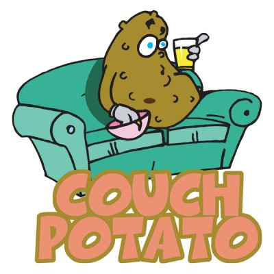 Idiom of the day-Couch Potato